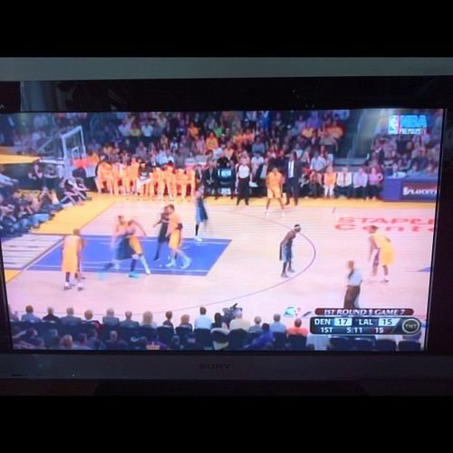 LAL vs DEN game 7 lets get it on! go lakeshow! Game7 Losangeleslakers LALakers LakeShow kobebryant @losangeleslakers