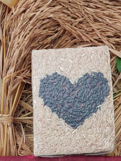 Rice and love No People Indoors  Rice - Food Staple Rice Grain Riceberry Riceworld