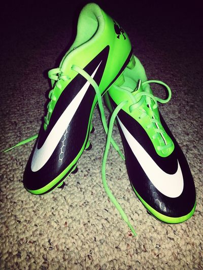 New Cleats!<3 Taking Photos New Soccer Cleats Soccer Life Excited