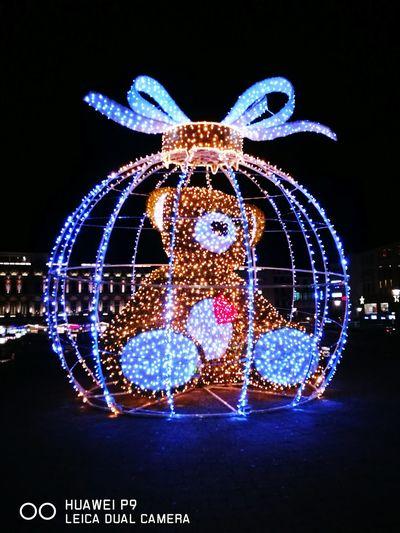 Christmas Decoration Village Fete Celebration Christmas Ornament Liège By Night Belgium