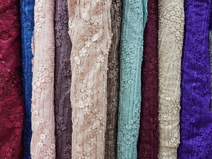 Multi Colored Backgrounds Full Frame Textile Variation Choice Fabric Retail  Textured  Pattern Carpet Drapes  Roll Curtain Holi Room For Sale Shop Stall Display Seamless Pattern Market Stall Repetition