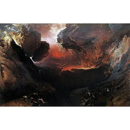 """The Great Day of His Wrath"" JohnMartin 1853"
