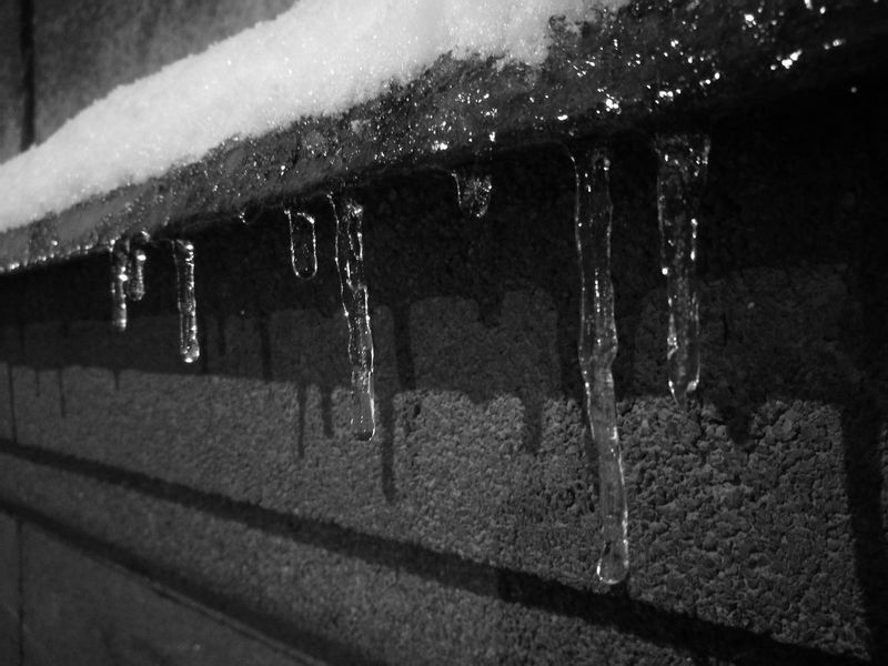 рига сосульки Icicles Monochrome Evening In The City Winter зима❄️ 2017