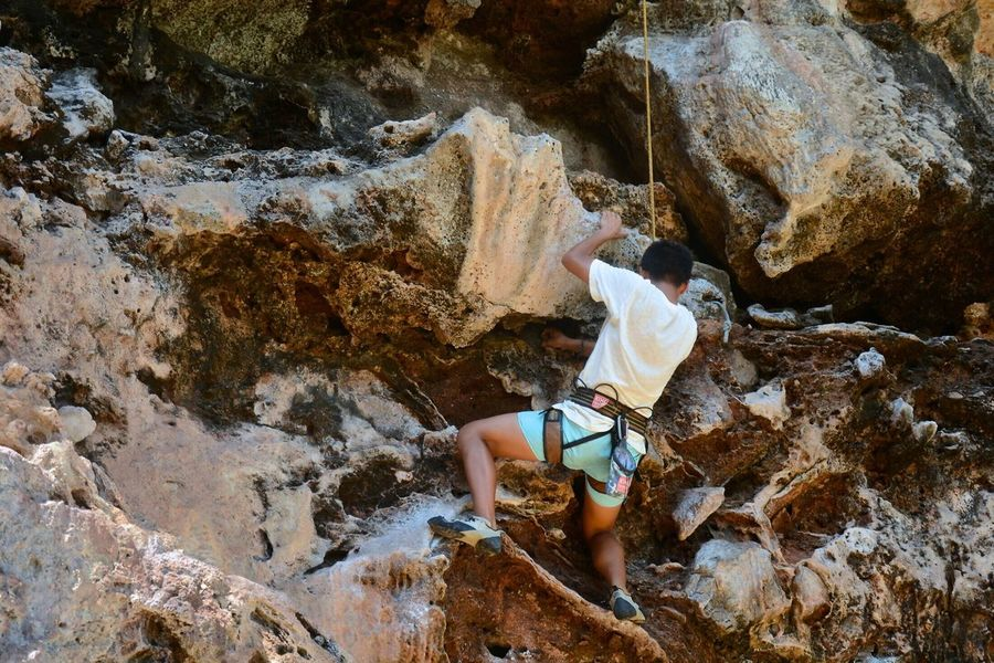 Alternative Fitness Thailand Krabi Railay Beach ThatsMe Rock Climbing