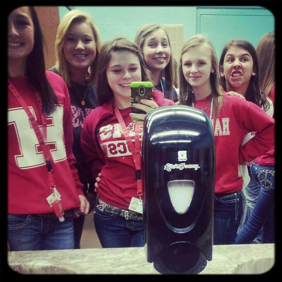 last friday ! bowling with these girls
