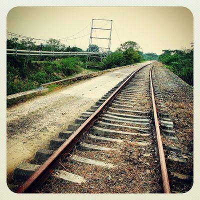 Railroad Rails Railway Venezuela Yaracuy Show_em