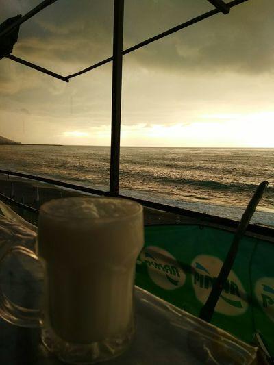 Relaxing Reflection Taking Photos Enjoying Life Hello World Seaside Naturelovers Sea And Sky Sunsetlover Ayran