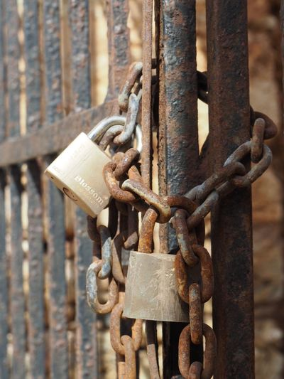 EyeEm Selects Metal Chain Rusty Safety Security Protection