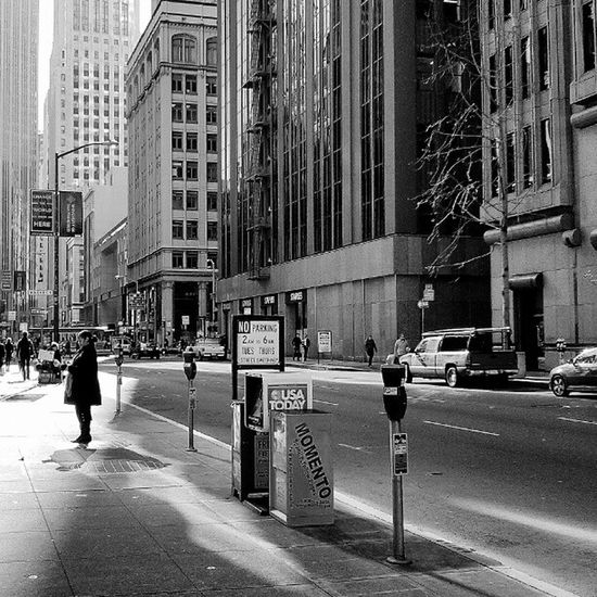 Sanfrancisco Cityscape Street Blackandwhite City TheCity