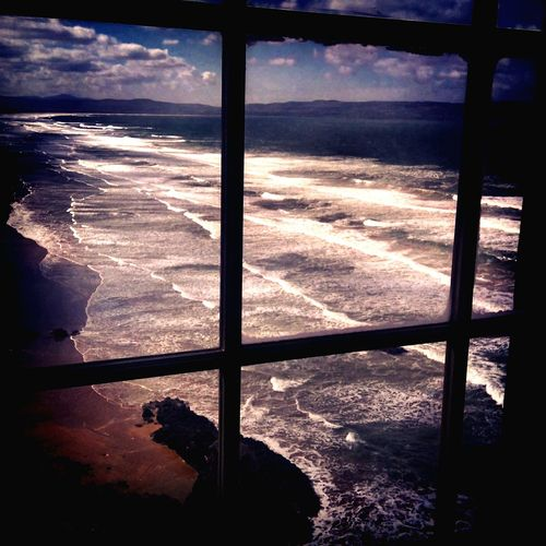 Windowsill Wishing. Outdoors Nature No People Ocean Waves Ireland🍀 Travel Photography Beauty In Nature Water Sea Beach Coastline Awe Tranquility Irish