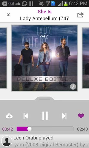Actually pretty good ??? in love with this EP right now Lady Antebellum