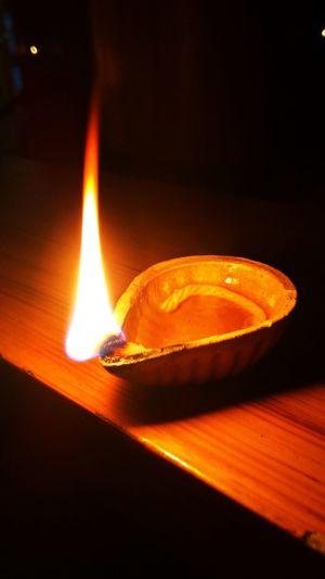 Lyk d diyas on diwali...iTz tYm FoR kErALA's Orange Color Karthikavilak...