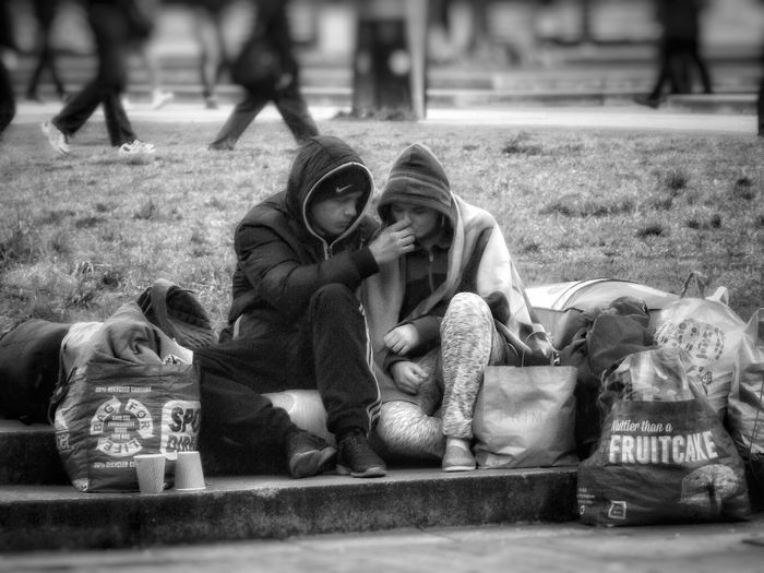 Another picture in my series people of Manchester .And that we don't forget the people that live on our streetsPeople Of Manchester Homeless Of Manchester Uk Homeless People Taking Photos HDR Hdr Photography Fujifilm Showcase March Eyeem Streetphotography Urban Life Streetphoto_bw City Life EyeEm Best Shots - Black + White Black & White Monochrome Black And White Photography Black & White Photography Creative Light And Shadow Shades Of Grey Black And White Photography Monocrome Street Photography Black And White Collection  Black And White People Photography People Watching People Of EyeEm Bnw_collection EyeEm Documentary Photography
