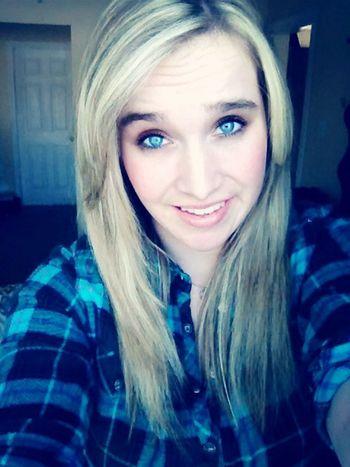 Feeling good Enjoying The Sun Blonde Blue Eyes Smiling