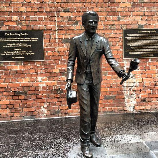 Happy #brickmonday ! #bronze #statues in #melbourne Melbourne Statues Bronze Brickmonday