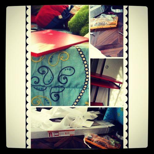 Armando muebles xD, Gramfriends Muebles Desorden Red