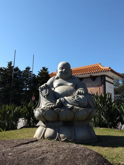 Sculpture Statue Clear Sky Sky Day Zulai Temple