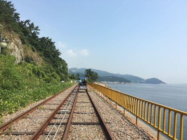 South Korea The Way Forward Sea Railing Nature Beauty In Nature Day Outdoors YeosuEXPO