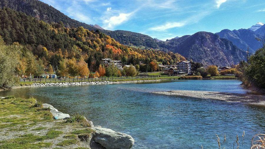 Autumn Colors Taking Photos Mountains Aostavalley Hello World Landscape_photography Landscape_Collection EyeEmBestPics EyeEm Best Shots - Nature Autumn Collection