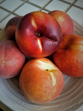 Nature's sweet treats; nectarines & peaches Fresh Produce Food Photography Summer 2015 Food Nectarines Fruit