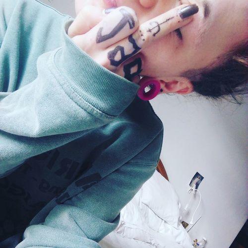 Lakush Person New Life 1997 Relax Tattoo Tattoos Tattooartist  Tattoo Obsession 24mm Dilatatore Dilation  Septum Central Labret Piercings First Eyeem Photo