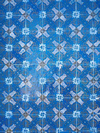 Blue Tiles in