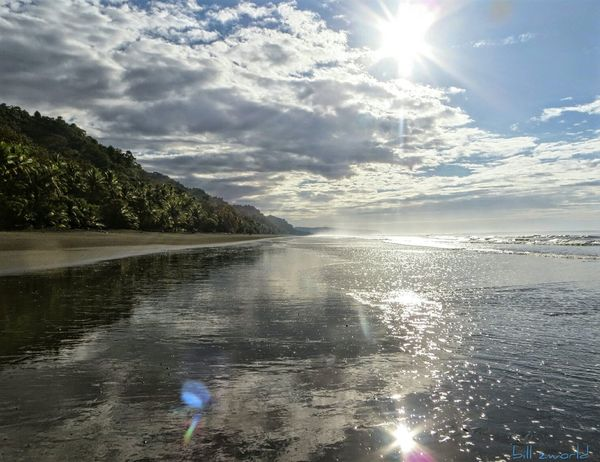 Corcovado sunrise Sea And Sky Travel Photography Cloud_collection  Beaches Beach Photography Sunrise_Collection Sunrise And Clouds Costa Rica Corcovado National Park