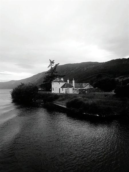 Loch Ness Shore Of Loch Ness Whitehouse Eyeemphoto Blackandwhite Placetovisit BonnieScotland From The Loch Wheresnessie