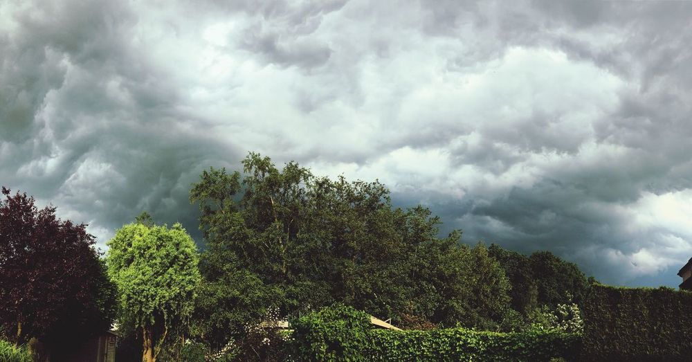 Summerstorms in Deinze Belgium