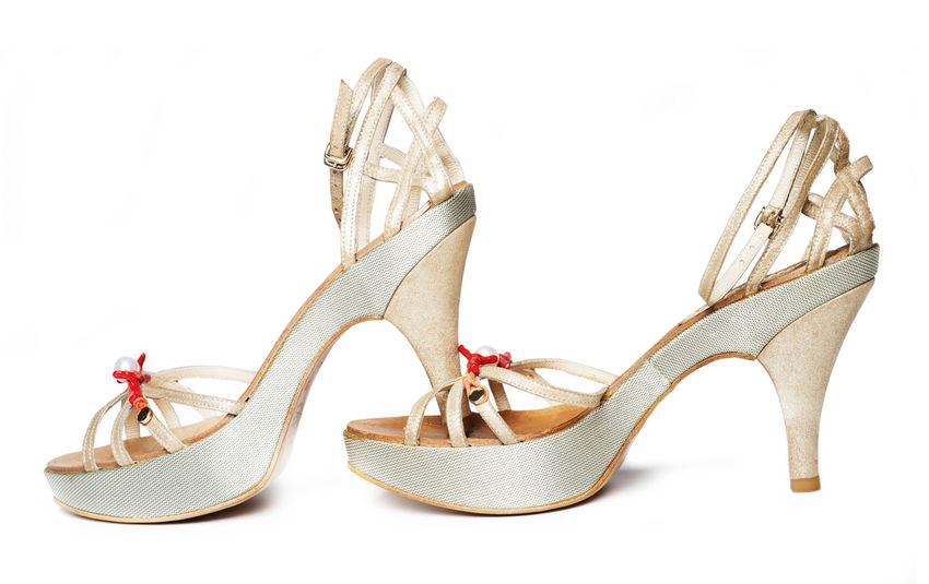 Close-up Day Dress Shoe Fashion High Heels No People Pair Sandal Shoe Studio Shot Things That Go Together White Background