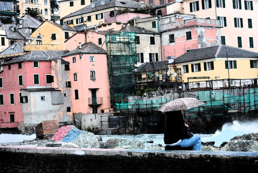Genova Boccadasse_genova Mare Pescatori