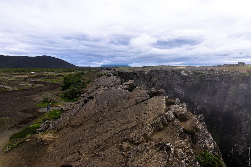 Mývatn, faille de Grjótagjá Iceland Myvatn Volcano