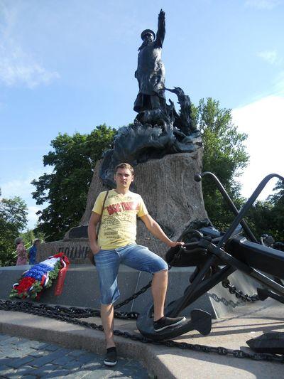 Кронштадт, Якорная пл. памятник адмиралу Макарову С.О.
