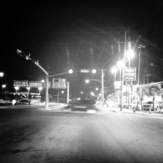 Late night drive. Driving EyeEm Best Shots-Nigh Photography Night Photography NOLA