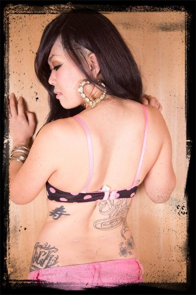 Model Tattoo Asian Girl