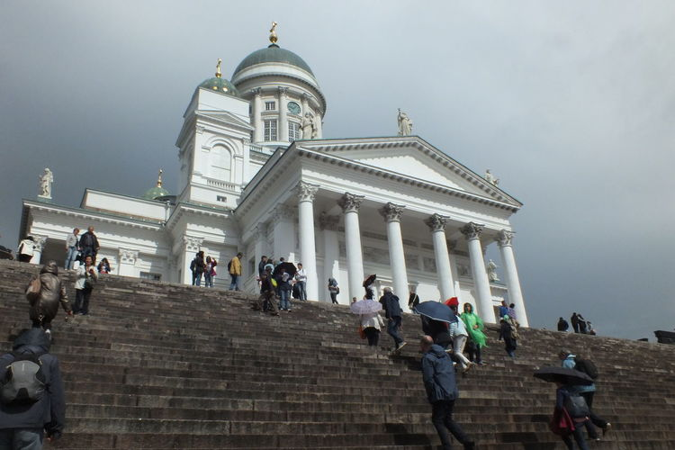 Helsinki Cathedral Travel Destinations Religion Architecture Built Structure Large Group Of People Steps History Tourism Travel Steps And Staircases Dome Low Angle View Day Statue Streetphotography Cityscapes Streetphoto_color Finland♥ Helsinki,finland Cityscape Architecture Building Exterior Architectural Column The Week On EyeEm Mix Yourself A Good Time Your Ticket To Europe