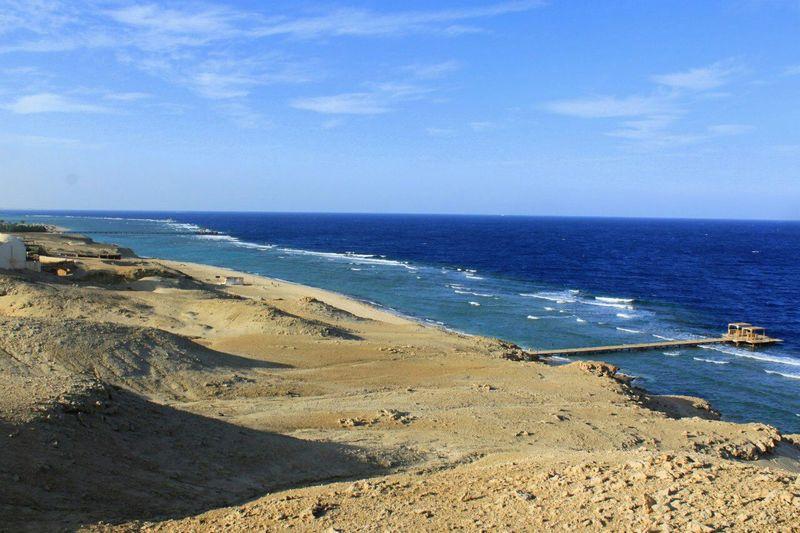 Streetphotography Lovely City Sea Beach Green Egipt Sanny Morning Marsa Alam Wonderful Walking Alone... Blue Лето2015 Street Sky Sammer Woter