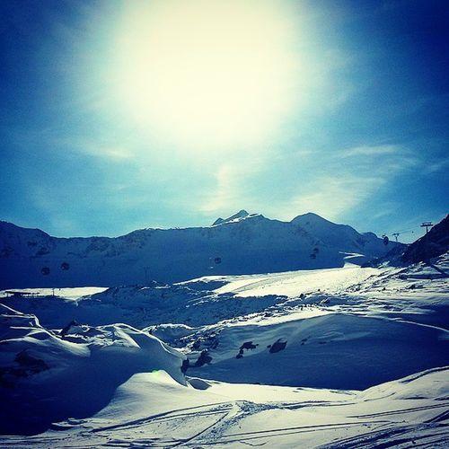 Itsallaboutsnow Needforspeed Winterwonderland Toponsnow Fortbildung Skiinstructor Pitztaler Gletscher Skiing Alps