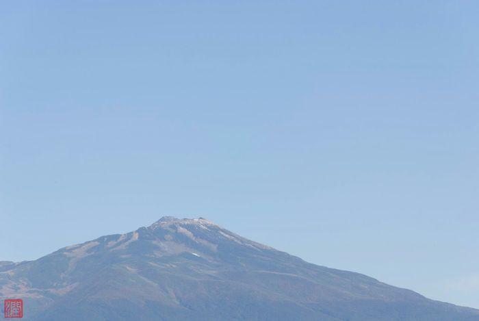 昨日酒田市が初冠雪を発表した鳥海山 Mountain Chokaizan Chokaisan Mt.chokaisan YAMAGATA Snow SAKATA