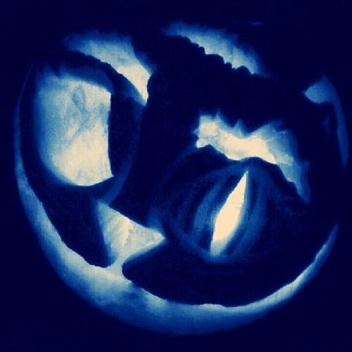 my pumpkin Jackolanterns Cheshire Cat ♡