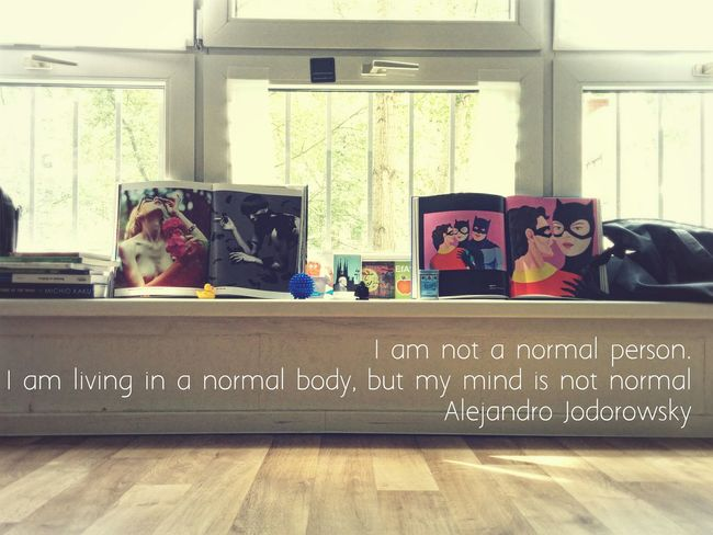My favorite Quote of this Week by alejandro jodorowsky