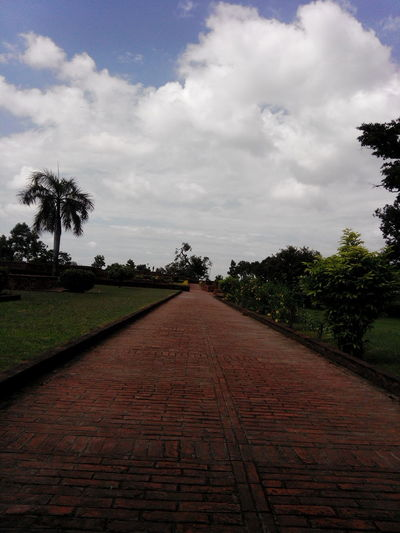 The Way Forward Cloud - Sky Nature Sky Beauty In Nature Outdoors Road Beautiful Place Sravasti Buddhism