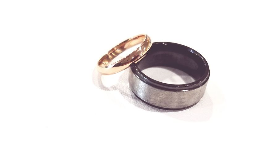wedding bands Rose Gold Tungsten  Colbolt Colbalt Rings Wedding Bands Wedding Rings Wedding Bands His And Hers His And Hers Mr. & Mrs. White Background Platinum Togetherness Dedication Diamond Ring Married Life Events Wedding Unity Finger Ring Brushed Metal Engagement Ring Pair Things That Go Together
