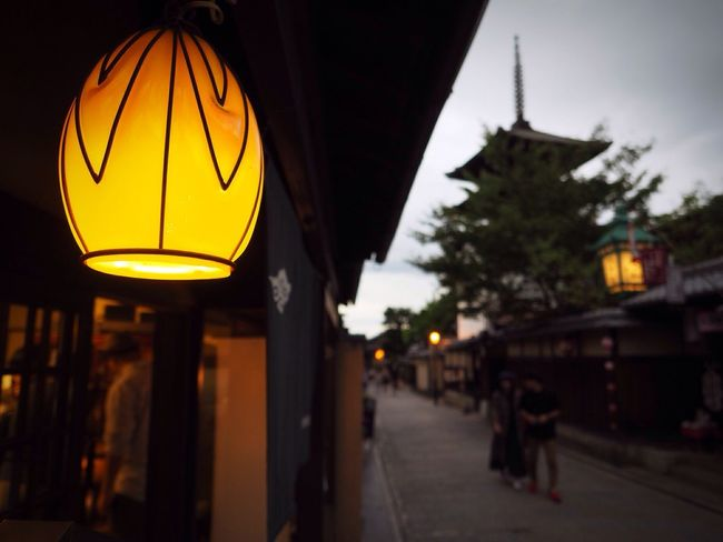 Kyoto Japan Higashiyama Yasaka-no-to Lump Light Cloud - Sky Today Olympus PEN-F 京都 日本 東山 八坂の塔 曇り 今日