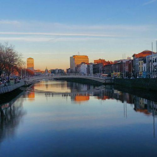 River Liffey Liffey RiverLiffey Dublin Dublin Street Photography Sunset