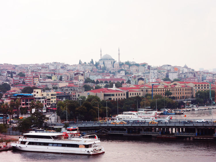Istanbul Turkey Eminönü Istanbul Turkey Musque Nature Sea Water