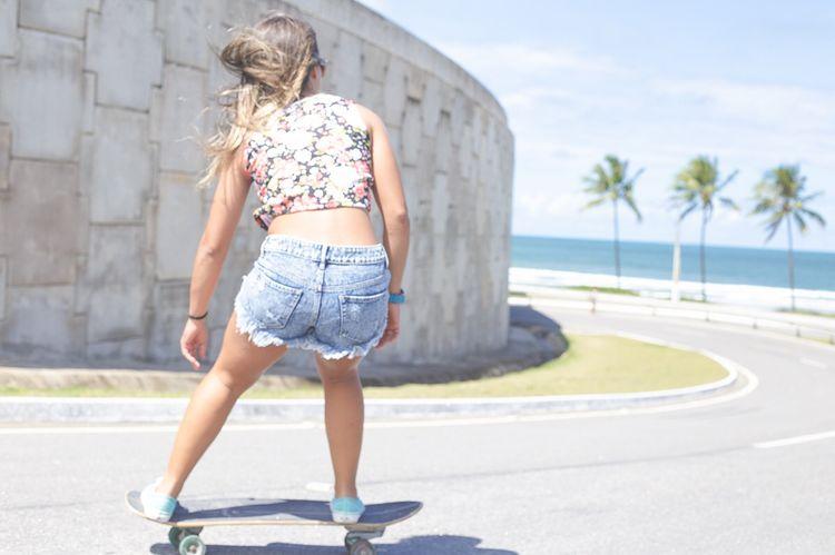 Do what you love Skateboarding Skate Skatergirl Skater Do What You Love Inspirational Beautiful Girl