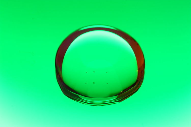 Green Color Macro Photography Mirror Close-up Glass No People Water Waterbubble