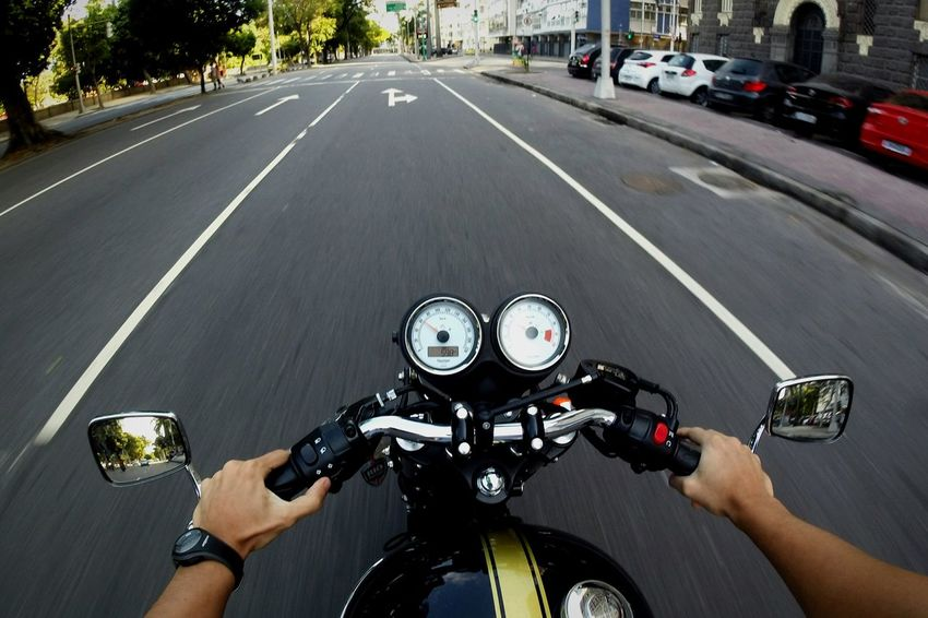 POV Motorcycle Motion From My Point Of View Triumph Motorcycle Triumph Gopro Taking Photos