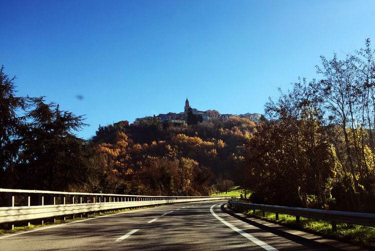 Avellino Campania Hill Italia Italy Italy❤️ Montemiletto Road Roadtrip Town